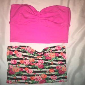 Victoria's Secret crop tops!